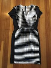 Wear to Work Shift Striped Regular Size Dresses for Women