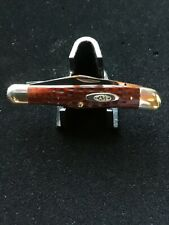 VINTAGE 1940-64 CASE XX 6208 HALF WHITTLER KNIFE KNIVES
