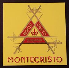 Montecristo Habana cigar sticker / decal