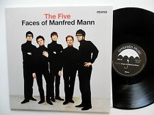 MANFRED MANN The Five Faces of LP Reissue NEAR-MINT 1960s Pop   sm51