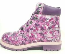 Timberland Womens Boots 6IN Classic Premium Grind Hiking 20968 Pink Waterproof