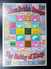 Gb 1979 Collect British Stamps Set of 3 Hobby of Kings Smilers Sheetlets Fp8495