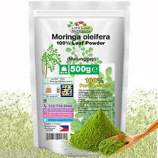 500g 100% Moringa Oleifera Leaf Powder (Malunggay) - NO FILLERS- Philippines