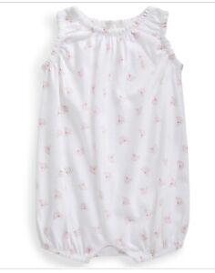 Ralph Lauren Baby Girls Nautical Print Buble Shortail White Mult Newborn
