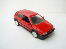 1:24 Sunny Side VW Volkswagen GOLF In Racing Red RARE!!