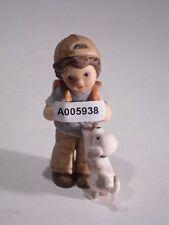 +# A005938 Goebel Archiv Muster Limpke Nina & Marco mit Schultasche und Hund