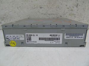 AUDI A5 8T 2007-2011 RADIO TUNER RECEIVER CONTROL MODULE 4G0035061