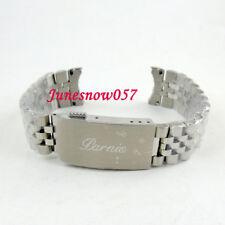 New version PARNIS 20mm 316L SS watch band bracelet Fit 40mm SUB men's watch