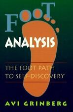 Foot Analysis: The Foot Path to Self-Discovery, Grinberg, Avi, Very Good Book