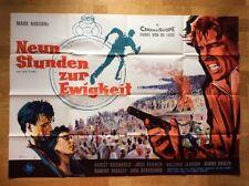 Neun Stunden zur Ewigkeit (A0-Kinoplakat '63) - Horst Buchholz / José Ferrer