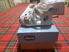 CHICCO Sandalo - COL. Bianco/Blu - Scarpe Bambino