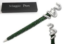 19Cm Harry Potter Slytherin House Plated Green Pen Xmas Gifts Best Collection Us