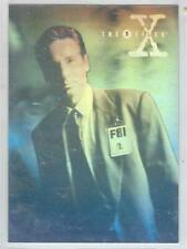 1996  X - Files  trading cards Season 3 Hologram card #X1 of 2.