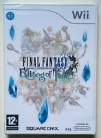 Final Fantasy Echoes of Time (Nintendo Wii) Factory Sealed PAL New Very Rare NEW