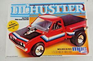 MPC Lil' Hustler Datsun Pro Gas Racer Model Kit 1:25 1-0859 1982 Complete