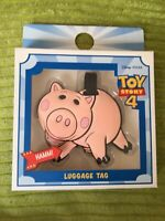 Disney Pixar Toy Story 4 Hamm Luggage Tag For Bag Or Suitcase New