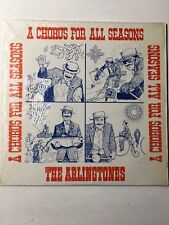 THE ARLINGTONES A Chorus for All Seasons Christmas barbershop vinyl record LP