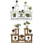 4 Tier Corner Wooden Plant Stand Ladder Flower Pot Display Rack Shelf Holder New