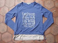 Tee Shirt Jacqueline Riu Bleu T 1 Neuf