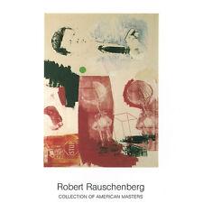 Robert Rauschenberg - Quote, 1964 - Rare Offset Lithograph Art Print Poster