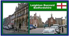 LEIGHTON BUZZARD, BEDFORDSHIRE - SOUVENIR  FRIDGE MAGNET -  BRAND NEW