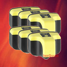 6 C8773WN 02 YELLOW INK FOR HP C7280 C8180 D6160 D7155