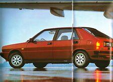 Rara Brochure  LANCIA  DELTA  HF Turbo 1983