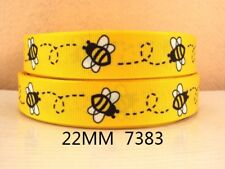 "Bee Ribbon 7/8"" Wide NEW UK SELLER FREE P&P"