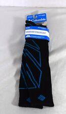 COLUMBIA Merino Wool Blend Over The Calf Men Snowboarding Socks Size 10 - 13