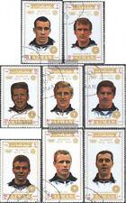 Ajman 1237A-1244A (kompl.Ausg.) gestempelt 1971 Olymp. Fußballturnier 1972