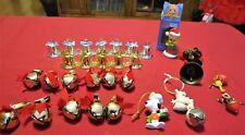 29 Christmas Ornaments, Clip-on Jingle Bells, Silver & Gold Bells, Snoopy, Tweet