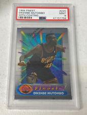 1994-1995 TOPPS FINEST DIKEMBE MUTOMBO #220 PSA 9 Card Denver Nuggets