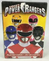SABANS POWER RANGERS OFFICIAL DECK OF 52 PLAYING CARDS NEW SEALED 2018 LICENSED