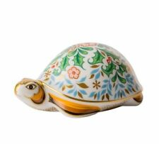 New Royal Crown Derby 1st Quality Winter Tortoise Paperweight