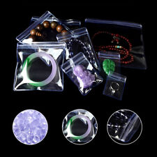 PVC Clear Anti-oxidation Plastic Grip Seal Bag for Zip Jewelry Storage Lock Pack