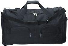 Reisetasche 80L schwarz Trolley Tasche Koffer Sporttasche Reisekoffer Case