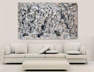 Canvas Wall Art - Jackson Pollock - Number 28