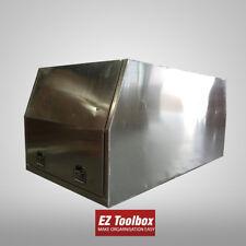 Flat Plate Aluminium Canopy Gullwing Tool Box Ute Tray Toolbox 1780x700x850mm
