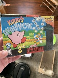 Kirby's Avalanche (Super Nintendo Entertainment System, 1995) SNES Sealed