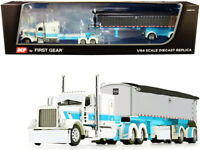 PETERBILT 389 MAC COAL END DUMP TRAILER STS TRANSIT 1/64 DCP/FIRST GEAR 60-0827