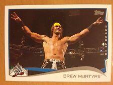 2014 Topps WWE #66 Drew McIntyre MINT