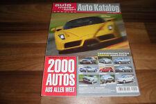AUTO KATALOG 2003 -- 2000 Modelle aus aller Welt / Betriebskosten - Preise-Daten