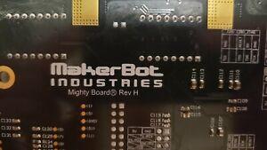 MakerBot Replicator 2X Motherboard Mighty Board Rev H (READ DESCRIPTION)