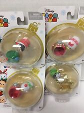 Jakks Pacific - Disney Tsum Tsum Holiday Figure Pack - MICKEY MOUSE Lot Of (4)