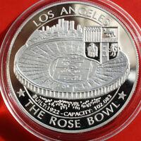 """Deutschland: 1 Deutsche Silberunze 1994, WM 1994 """"The Rose Bowl"""", #F 0407, Proof"""