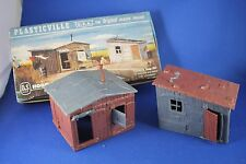 Plasticville - O-O27 - #1627-100 Hobo Shacks - Original - EXCELLENT Condition