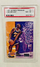 1996 Kobe Bryant Rookie Card #203 PSA Graded NM~MT 8 SkyBox Premium Basketball!