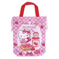 Sanrio Hello Kitty 24W x 29Hcm Polyester Drawstring Bag w/ Handle (9-6959-11)