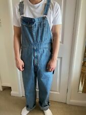 BNWT Levi's Silver Tab Denim Dungarees Overalls 90's Oversized Unisex Size M