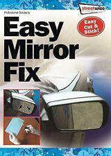 "CAR WING DOOR MIRROR REPAIR KIT / EASY MIRROR FIX 8"" x 5"" CUT TO SIZE STICK ON"